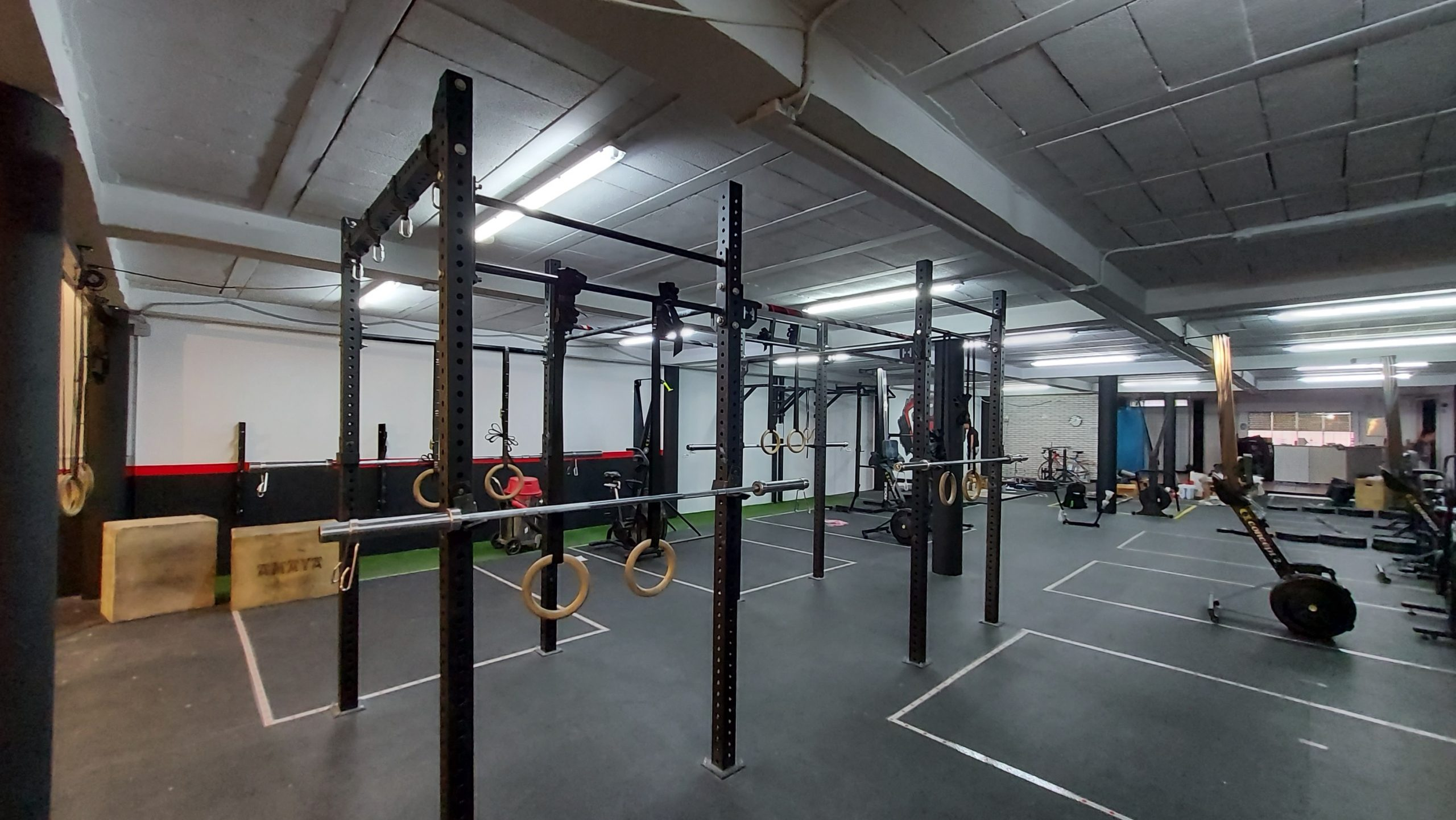 Box interior CrossFit Rocalla